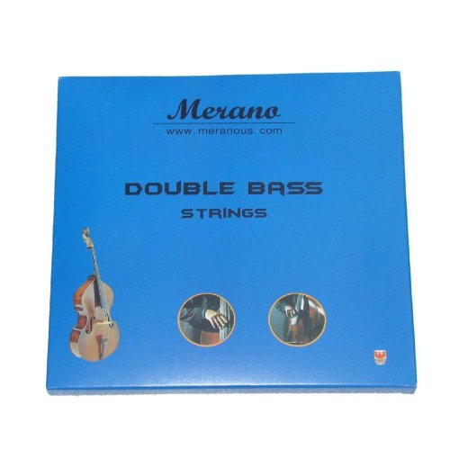Merano 4/4, 3/4 Upright Double Bass Strings - Buy One Get One FREE ~ Beginner, Student, Replacement ~ String Bass