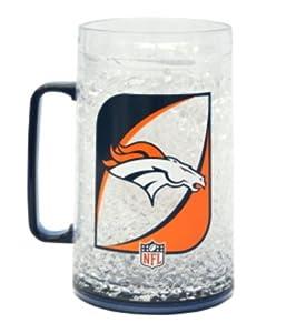 NFL Denver Broncos 36-Ounce Crystal Freezer Monster Mug by Duck House