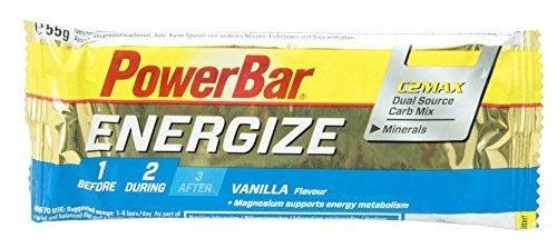 PowerBar Energize Bar バニラ 25本入り PBE5P