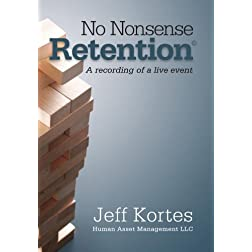 No Nonsense Retention: A recording of a live event