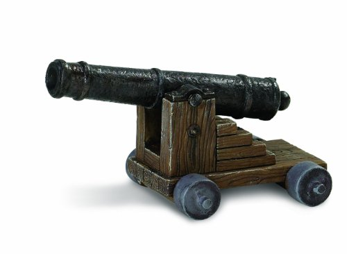 Safari Ltd  Pirates Cannon Figure - 1
