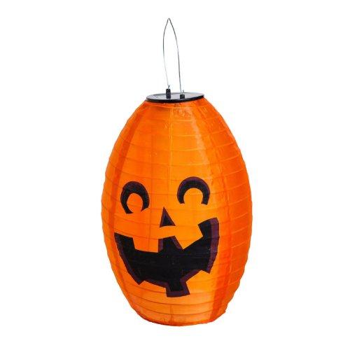 Solar Pumpkin Lantern