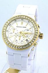 Michael Kors MK5918 Glitz Ladies Watch - Mother of Pearl Dial Stainless Steel Case Quartz Movement