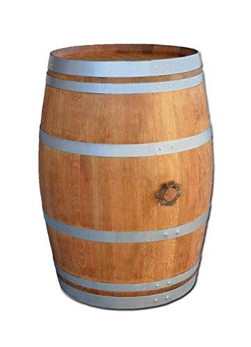 Stehtisch-aus-Weinfass-Dekofass-Gartentisch-aus-Holzfass-Fass-geschliffen-und-gelt-mit-silbernen-Ringen