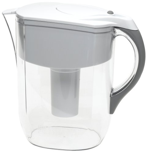 Brita 42378 deluxe water pitcher 2006 02 08 - Glass filtered water pitcher ...