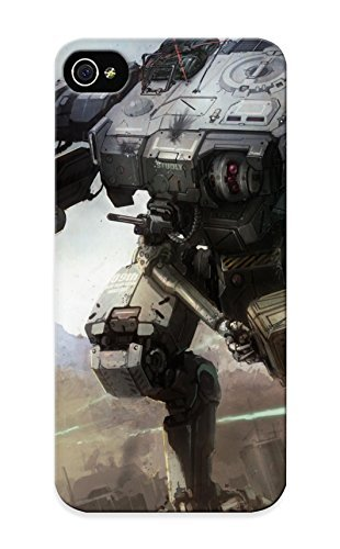 Crooningrose Scratch-free Phone Case For Iphone 5/5s- Retail Packaging - Mechwarrior Battletech