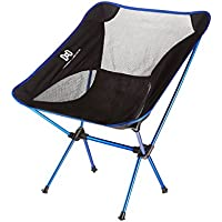 Moon Lence Ultralight Portable Folding Camping Backpacking Chairs with Carry Bag (Multiple Colors)