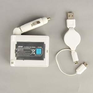 Nintendo DSi Chargeur Secteur Batterie Voiture