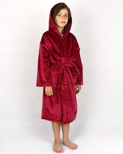 Red Terry Velour Robe