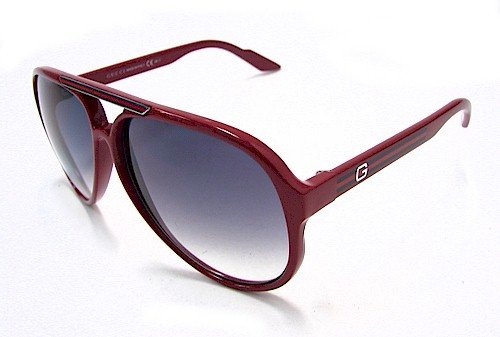 GUCCI 1627/S Red Aviator Style Sunglasses