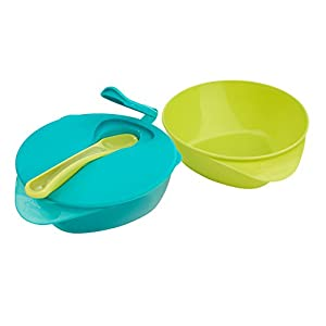 Tommee Tippee Easy Scoop Feeding Bowls with Spoon, 2-Count