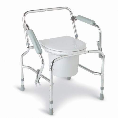 Buy Drop Arm Steel Commode
