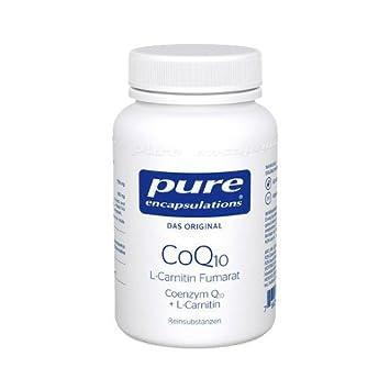 PURE ENCAPSULATIONS CoQ10 L Carnitin Fumar.Kps. 60 St Kapseln