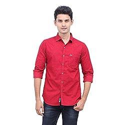 urbantouch Red Corduroy Shirt