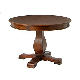 Dining Table Asia Modern A True Dining Delight The Teak Pedestal Table