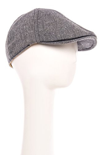 Men's Andrew Luck Tweed Flat Cap