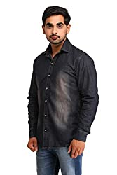 Snoby black wash Denim shirt SBY8086