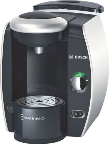 2 X Bosch T40 TAS4011GB Coffee Maker, Silver by BSHAE
