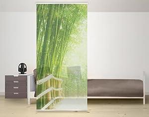 wtd design panneau japonais motif bambou cuisine maison. Black Bedroom Furniture Sets. Home Design Ideas