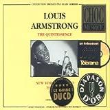 echange, troc Louis Armstrong - The Quintessence 1925-1940
