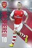 Arsenal アーセナル 2014-15モデル ジャック ウィルシャー ポスター / SP1138