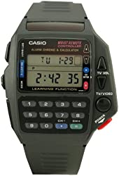 Casio Men's CMD40B-1Z Technoware Calculator TV Remote Watch