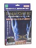 JTW チタンパワーベルト Lサイズ W0102  4541066 111997