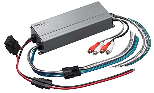 Clarion XC14XC Series 300W Micro 4-Channel Class-D Amplifier
