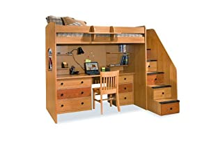 Desk Station for Dorm by Berg Furniture