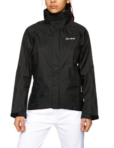 Berghaus Womens Paclite Gore-Tex Lightweight Jacket - Black, Size 12