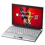 東芝 dynabookSS RX1/TAE LED/1Gx2/128G(SSD)/S-Multi/11a.g.n/VistaBiz PARX1TAELA