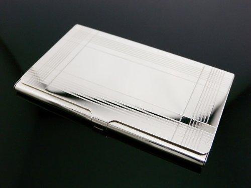 Tiffanyco tiffany business card holder card case for Tiffany and co business card holder