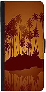 Snoogg Tropical Night Vector Backgrounddesigner Protective Flip Case Cover Fo...