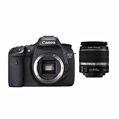 Canon EOS 7D 18 MP Digital SLR Camera Body with Canon EF-S 18-55mm IS Lens + Canon 75-300mm f/4-5.6 Telephoto Zoom Lens