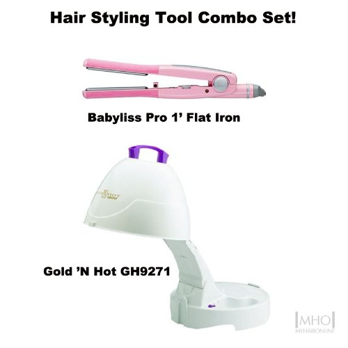 Hair Styling Tool Combo Set-I (Conair Hood Dryer compare prices)