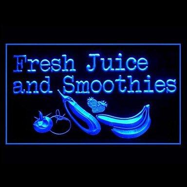 Fresh Juice Smoothies Advertising Led Light Sign