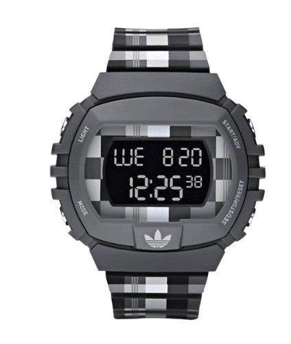 Adidas Originals NYC Black Plaid Mens Watch ADH6103