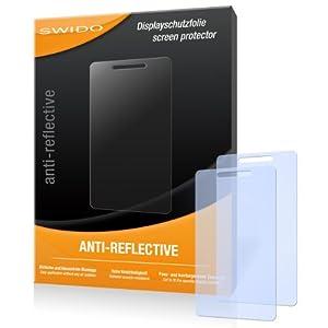 SWIDO X030557 antireflektierend hartbeschichtet Displayschutzfolie für Motorola Milestone 2/Milestone2/II (2-er Pack)