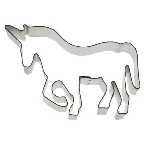 Ausstechform Einhorn / Pferd Edelstahl spülmaschinen Geeignet 076143