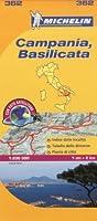 Campania Michelin Local Map 362 (Michelin Regional Maps)