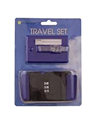 Unique Gadget Travel Set Luggage Strap Luggage Tag Combination Lock