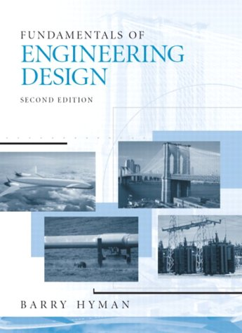 Fundamentals Of Engineering Design Barry Hyman