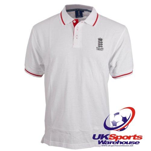 ECB Official England Cricket Classic Logo Polo Shirt (ECB1301) rrp£30