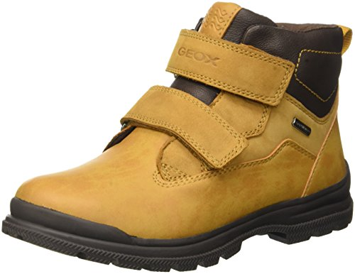 Geox JR William B Abx A, Stivali Chukka Bambino, Giallo (Ochreyellow/BROWNC0697), 27 EU