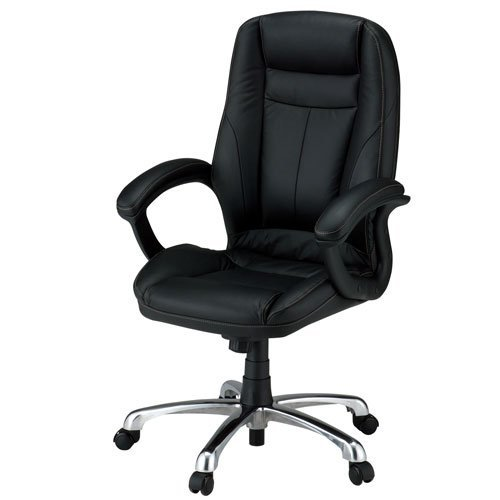 Noir de type cathedrachair YR5H ITOKI fixe coude
