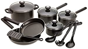 Farberware Cook's View 14-Piece Cookware Set