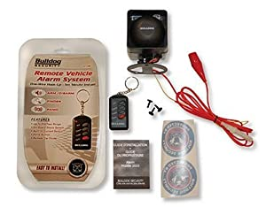 Bulldog Security 2010 Do It Yourself Security Alarm w/Mini-Siren