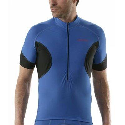Buy Low Price Giordana Laser Short Sleeve Cycling Jersey – Blue – (GI08-SSJY-LASE-BLUE) (B0012MS5S4)