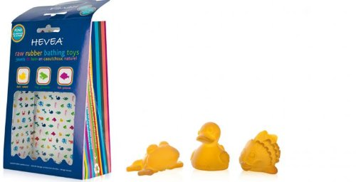 Hevea Natural Rubber Pond Bath Toys