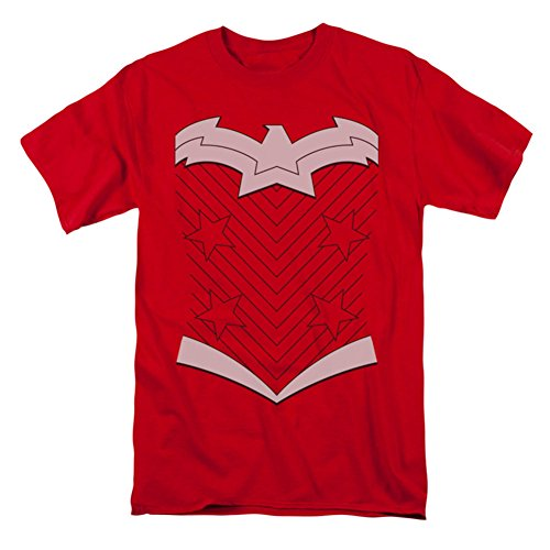 JLA/NEW WW COSTUME - S/S ADULT 18/1 - RED